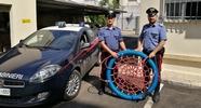 Droga e l'altalena per disabili rubata a Tiggiano: 34enne nei guai