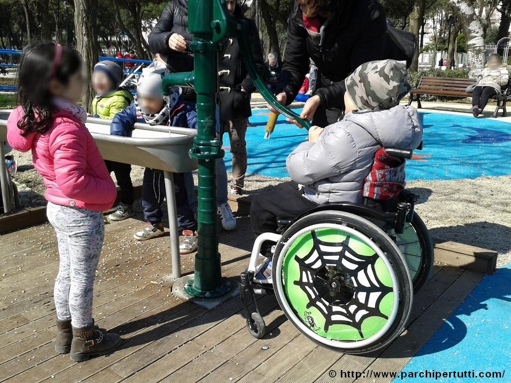 Gita al parco giochi inclusivo di Rimini