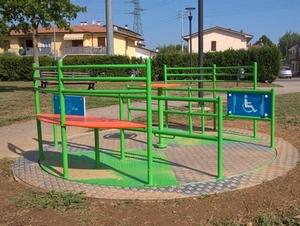 Parco accessibile a Marginone