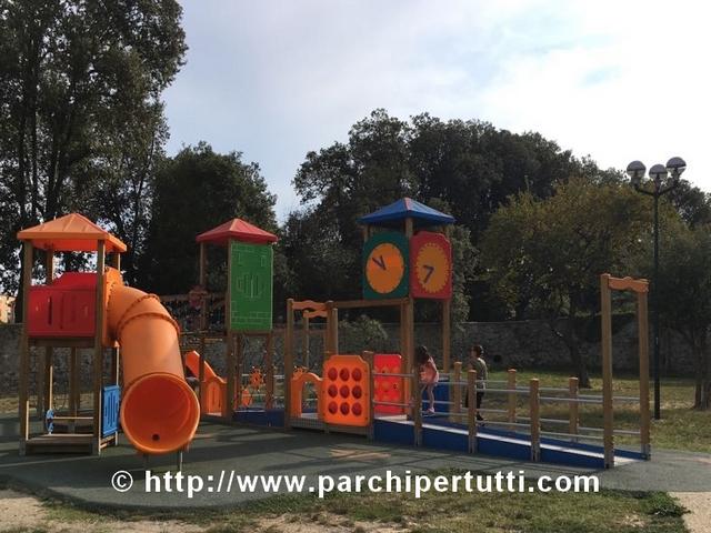 Nuovi giochi nei parchi di Ravenna