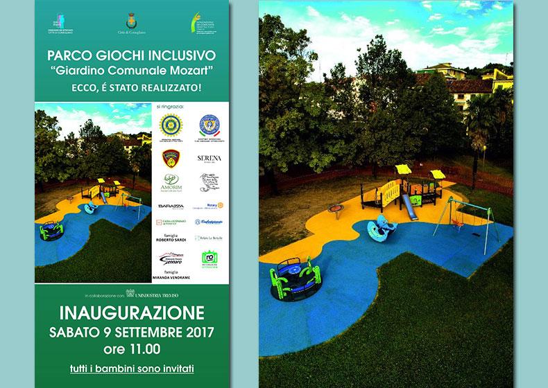 Inaugurazione parco inclusivo Conegliano