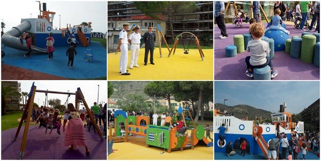 Inaugurazione Parco Corsaro Nero