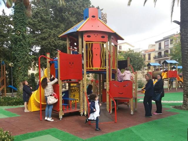 Inaugurato parco giochi a Corleone