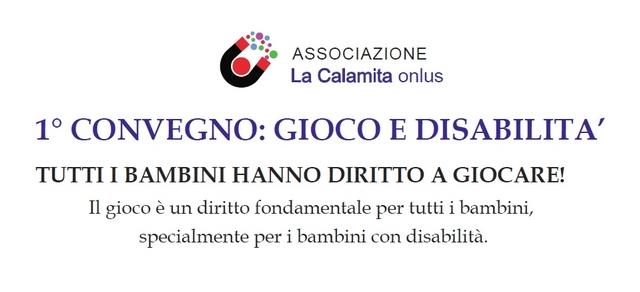 Fucecchio 1° convegno: gioco e disabilità