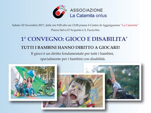 1° Convegno: Gioco e Disabilità