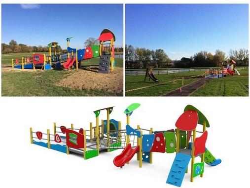 Empoli, gioco inclusivo al parco