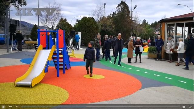 Inaugurazione parco Arenzano