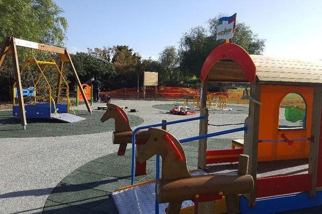 Inaugurazione parco Terramaini a Cagliari