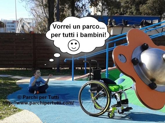 Un parco giochi inclusivo è davvero per tutti