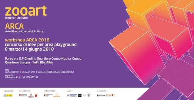 ZOOART A.R.C.A. 2018Con l'ARCA si progettano i playground