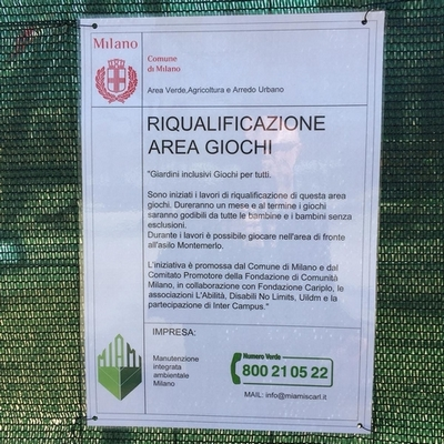 Riqualificazione Giardini Indro Montanelli