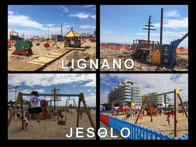 """Lignano e Jesolo: parco """"inclusivo"""" su sabbia…"""