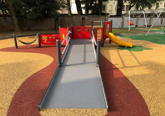 A Gallarate apre il parco inclusivo senza fondi regionali