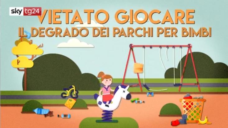 Vietato giocare, il degrado dei parchi per bambini