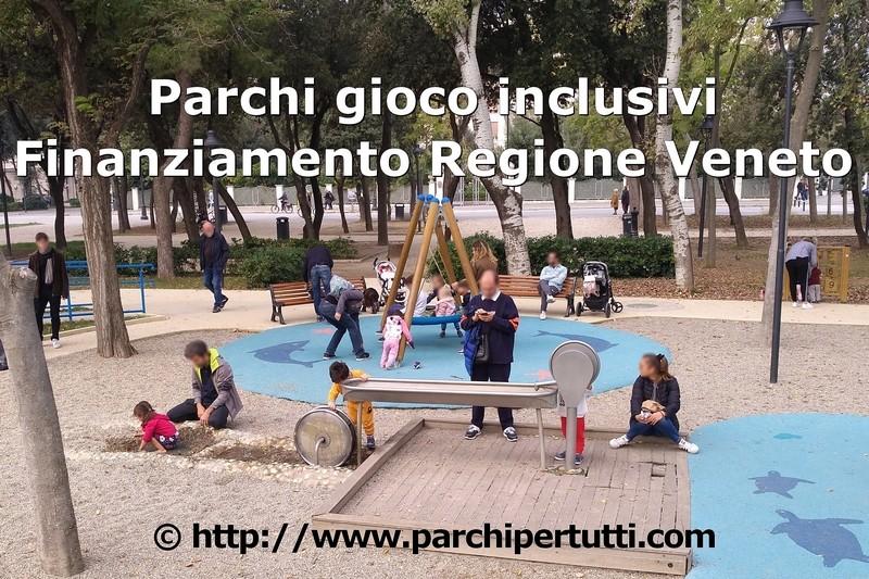 Bando Regione Veneto parchi inclusivi