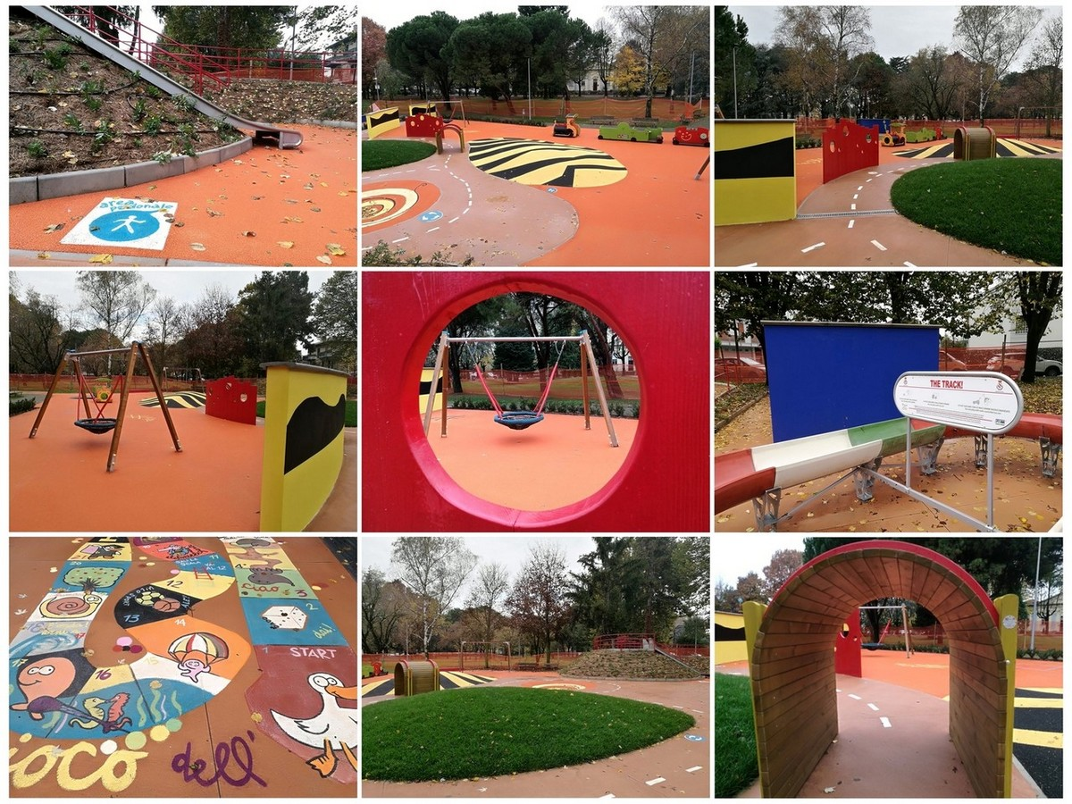 Sabato 17/11/2018 inaugurazione parco giochi a Desio