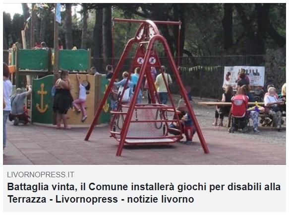 Altalene inclusive a Livorno