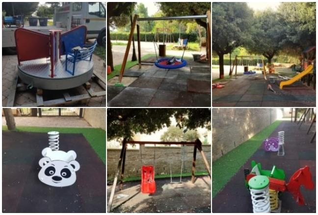 Torremaggiore inaugurazione del parco giochi inclusivo