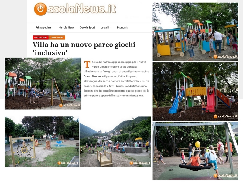 Villa ha un nuovo parco giochi 'inclusivo'. Siamo sicuri?
