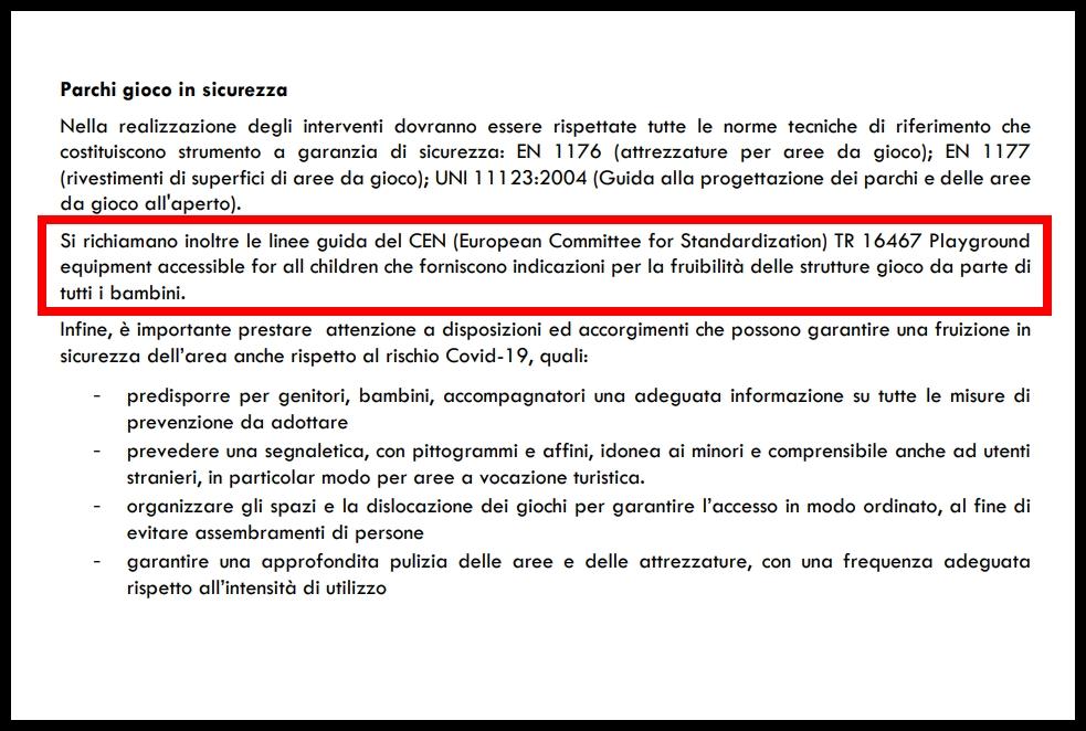 Parchi Gioco inclusivi pubblici Lombardia: bando per gli interventi per l'anno 2020-2021